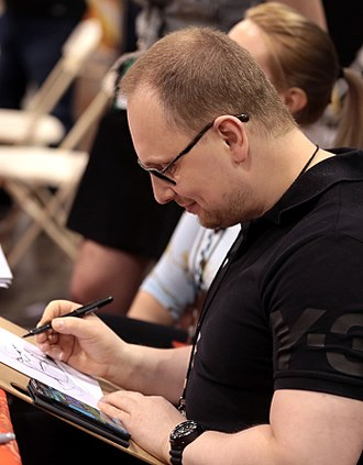 Adi Granov - Granov at the 2018 Phoenix Comic Fest