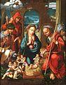 Adoración de los pastores, de Felipe Pablo de San Leocadio (Museo del Prado).jpg