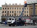 Aerial work platform in St. Petersburg, Russia.jpg