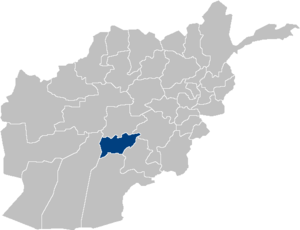 Afghanistan Oruzgan Province location.PNG