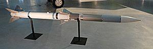 Beyond-visual-range missile - Image: Aim 120 amraam missile 20040710 145603 1.4