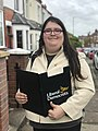 Aimee Challenor campaigning for Liberal Democrats.jpg