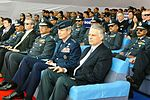 Air Force Chief of Staff Gen. Norton Schwartz sits with U.S. Ambassador to India Timothy J. Roemer (right) during the C-130J Super Hercules induction ceremony.jpg