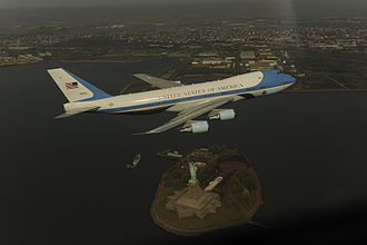 Air Force One photo op incident - Image: Air Force One photo op incident