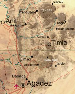 Goûgaram Commune and town in Agadez Region, Niger