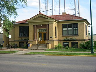 Aitkin, Minnesota - Jaques Art Center (Formerly Aitkin Carnegie Library)