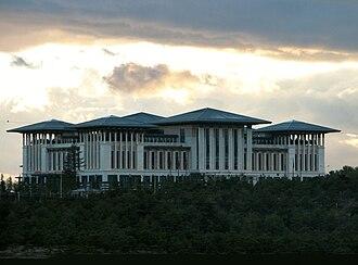 Presidential Complex - Image: Ak Saray Presidential Palace Ankara 2014 002