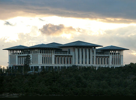 New Presidential Palace in Ankara Ak Saray Ankara 2014 002.JPG