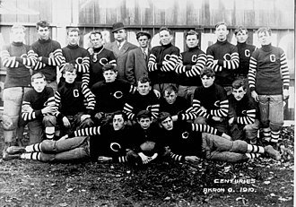 Akron Pros - The Akron Pros in 1910.