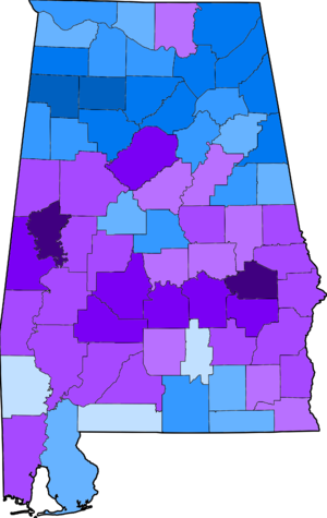 Alabama Democratic primary, 2008