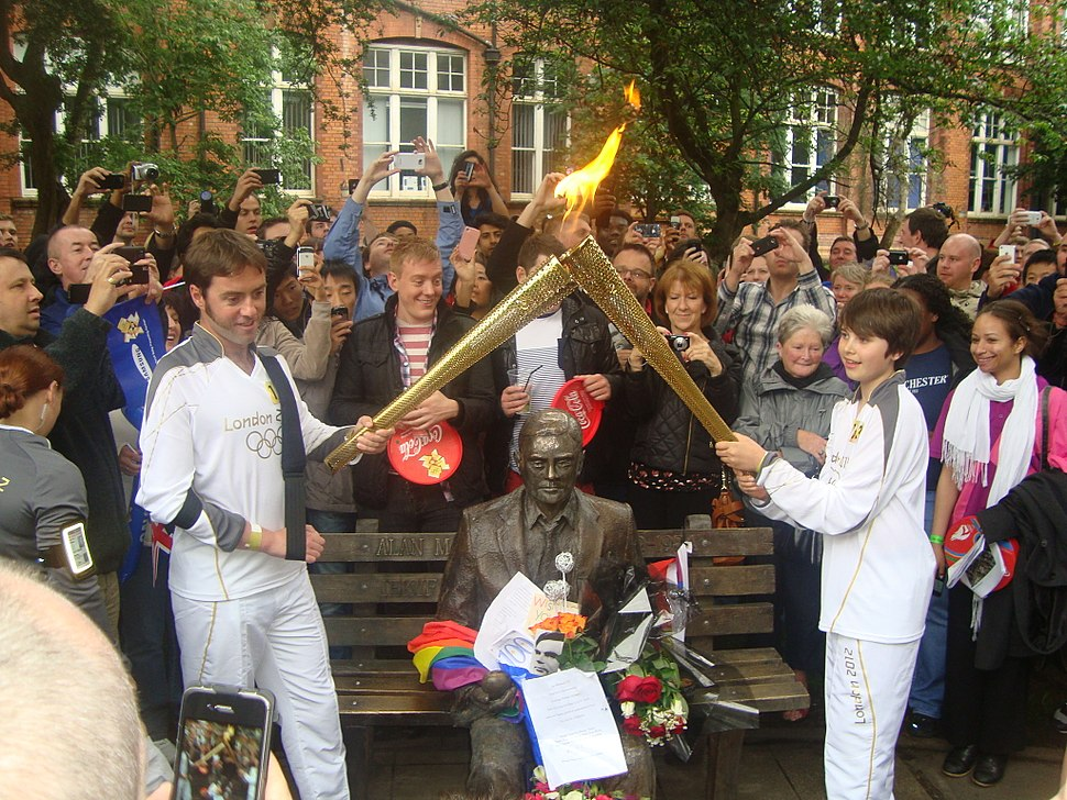 Alan Turing Olympic Torch