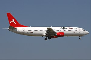 AlbaStar - AlbaStar Boeing 737-400