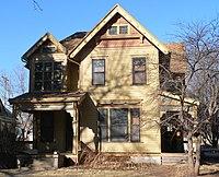 Albert Watkins house (Lincoln, Nebraska) from S 2.JPG