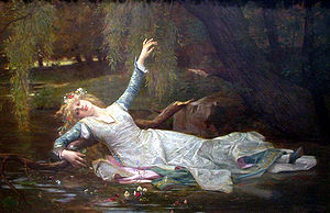 Ophelia - Ophelia by Alexandre Cabanel