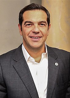 Alexis Tsipras Prime Minister of Greece (2015; 2015–2019)