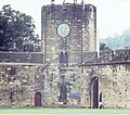 Alnwick Castle clock tower - geograph.org.uk - 1312678.jpg