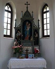 Altar Kapelle Maria Schnee, Feistritz an der Gail, Kärnten.jpg