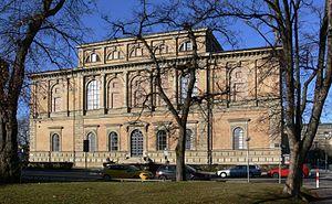 Alte Pinakothek - Alte Pinakothek, eastern façade