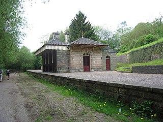 Alton Station former railway station in Staffordshire, United Kingdom