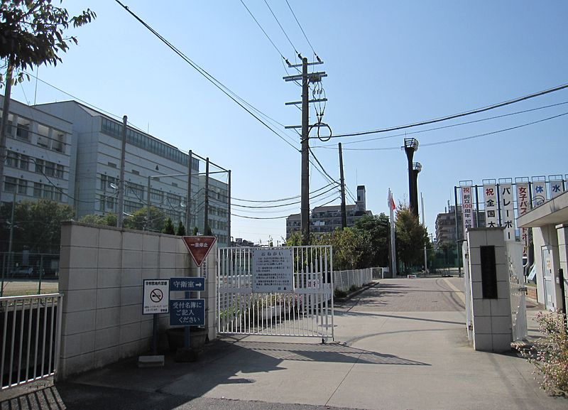 Amagasaki City Amagasaki High School.JPG