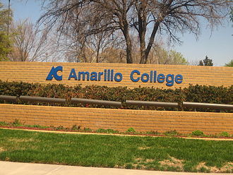 Amarillo College - Image: Amarillo College sign