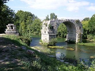 Gallargues-le-Montueux - Pont Ambroix