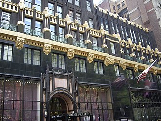 American Radiator Building - 40th Street facade