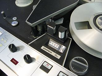 Type A videotape - Image: Ampex VR8800 VTR Type A