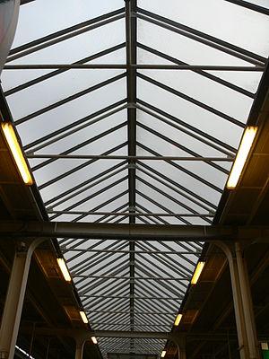 skleněná střecha