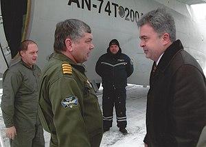 Pavel Naumenko - An-74T-200A first test flight (Kharkiv, December 2004)
