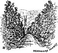 An Old English Home and Its Dependencies, Hedges—end ornament.jpg