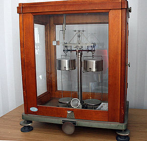 Analytical balance - Mechanical analytical balance