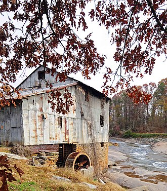 National Register of Historic Places listings in Spartanburg County, South Carolina - Image: Anderson Mill (3)