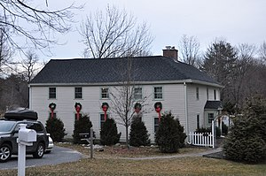 Chandler-Bigsby-Abbot House - Image: Andover MA Chandler Bigsby Abbot House