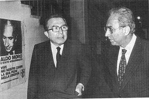 Francesco Cossiga - Francesco Cossiga with Giulio Andreotti in 1978.