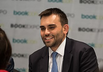 Andrew Aydin - Aydin at BookExpo America in 2018