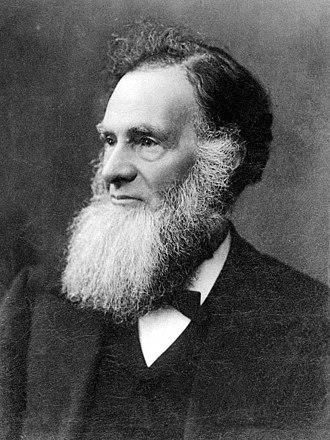 Robert Garran - Portrait of Andrew Garran, Robert's father, in 1896