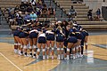 Angelo State vs. Texas A&M–Commerce volleyball 2017 02.jpg