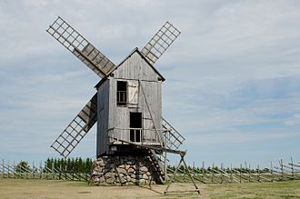 Angla - Windmill in Angla