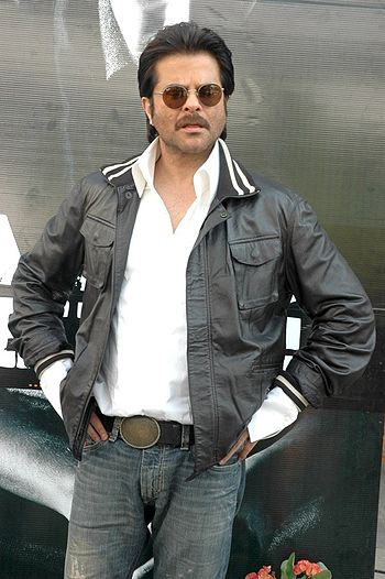 English: Anil Kapoor at the Audio release of B...