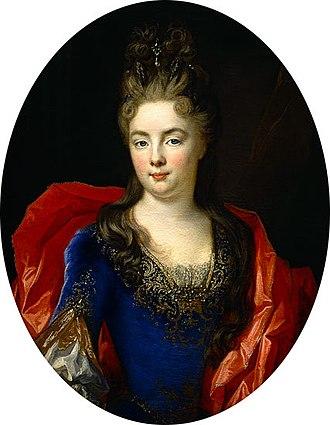 Madame de Ventadour - Her only child, Anne Genevieve de Levis, Nicolas de Largillière.
