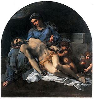 Annibale Carracci - Pietà between 1599 and 1600