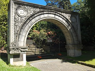 NAB House - Anniversary Arch in the botanical gardens