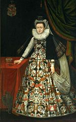 Portret Katarzyny z Lubomirskich Ostrogskiej