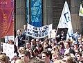 Ansett Demonstration at State Library of Victoria 2 - 14th Sept 2001.jpg