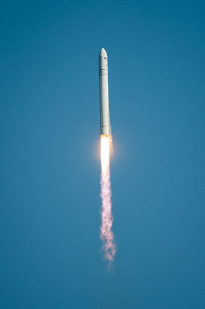 2013 in spaceflight - The first launch of the Antares rocket occurred on 21 April 2013.