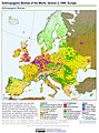 Anthropogenic Biomes of the World, Version 2, 1900 Europe (13604072224).jpg