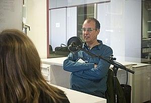 Antoni Abad - Antoni Abad talking at Radio Web MACBA.