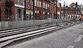 Anzin & Valenciennes - Travaux de raccordement des lignes A & B du tramway de Valenciennes à la Croix d'Anzin le 9 août 2013 (06).JPG