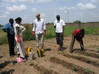 Water supply and sanitation in Burkina Faso - Application of urine in agriculture